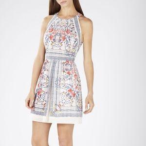 MARDOWN! NWOT. BCBG Cambria a-line halter dress
